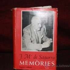 Libros de segunda mano: 1339- JOSEP MARIA DE SAGARRA MEMORIES. EDIT AEDOS. 1964. JOSEP MARIA DE SAGARRA. . Lote 127791423