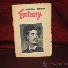 Libros de segunda mano: 1316- FORTUNY. EDIT ELS QUADERNS D'ART. TIP CPSMOS. S/F. JOAQUIM CIERVO.. Lote 24166621