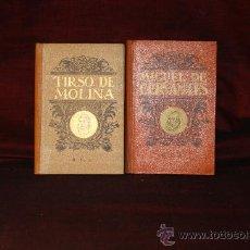 Libros de segunda mano: 0104- BIOGRAFIAS DE MIGUEL DE CERVANTES SAAVEDRA Y TIRSO DE MOLINA. EDIT, DALMAU. 1936 . Lote 24404779