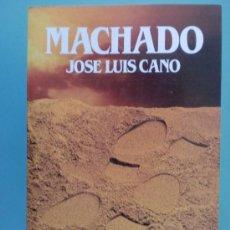 Libros de segunda mano: BIBLIOTECA SALVAT DE GRANDES BIOGRAFIAS. Nº 41. MACHADO. JOSE LUIS CANO. 1985.. Lote 108831451