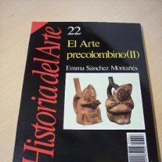 Libros de segunda mano: HISTORIA DEL ARTE Nº 22 (EL ARTE PRECOÑOMBINO II) . Lote 26381307