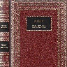 Libros de segunda mano: RICHELIEU (POR WILLY ANDREAS) Y MARIA ANTONIETA (POR FEDERICO REVILLA), NUEVO. Lote 26550137