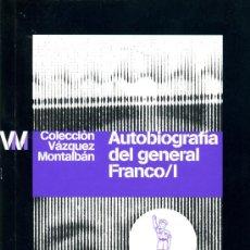 Libros de segunda mano: AUTOBIOGRAFÍA DEL GENERAL FRANCO. Lote 26975473