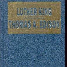 Libros de segunda mano: LUTHER KING - THOMAS A. EDISON, GRANDES BIOGRAFIAS, HERCULES EDICIONES, 1ª EDICION 1988. Lote 27748776