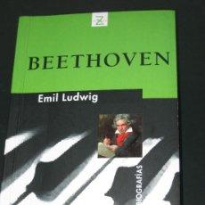 Libros de segunda mano: BIOGRAFIA DE BEETHOVEN, POR EMIL LUDWIG. Lote 27830265