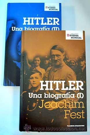 JOACHIM FEST: HITLER, UNA BIOGRAFÍA. 2 VOLS. (Libros de Segunda Mano - Biografías)