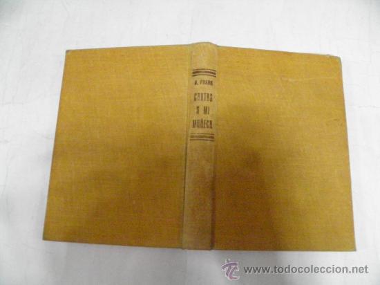 CARTAS A MI MUÑECA. ANA FRANK EDITORIAL HEMISFERIO, 1953 RM35010 (Libros de Segunda Mano - Biografías)