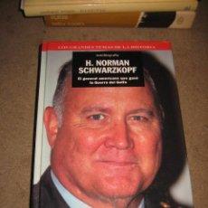 Libros de segunda mano: EL GENERAL H.NORMAN SCHWARZKOPF EL GENERAL AMERICANO QUE GANO LA GUERRA DEL GOLFO AUTOBIOGRAFIA. Lote 28524128