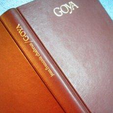 Libros de segunda mano: GOYA. BIOGRAFIA POR JEAN FRANCOIS CHABRUN. SIMIL PIEL, TAPAS DURAS Y TITULO ORO.. Lote 28605922