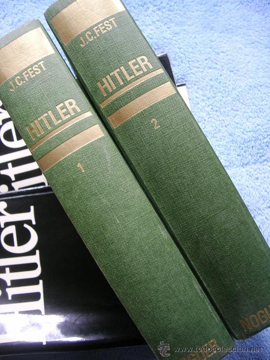 Libros de segunda mano: HITLER. JOACHIM C. FEST. LA BIOGRAFIA DEFINITIVA. DOS TOMOS, CON FOTOS DE LA EPOCA, . - Foto 2 - 28627665