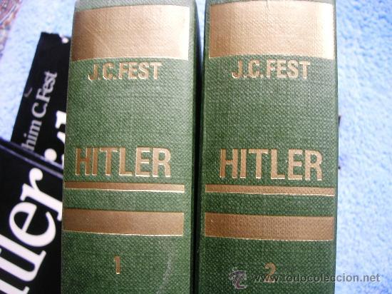 Libros de segunda mano: HITLER. JOACHIM C. FEST. LA BIOGRAFIA DEFINITIVA. DOS TOMOS, CON FOTOS DE LA EPOCA, . - Foto 3 - 28627665