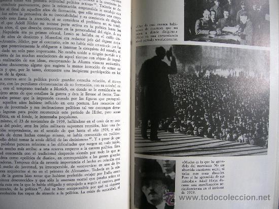 Libros de segunda mano: HITLER. JOACHIM C. FEST. LA BIOGRAFIA DEFINITIVA. DOS TOMOS, CON FOTOS DE LA EPOCA, . - Foto 7 - 28627665