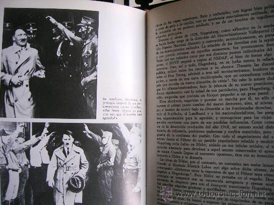 Libros de segunda mano: HITLER. JOACHIM C. FEST. LA BIOGRAFIA DEFINITIVA. DOS TOMOS, CON FOTOS DE LA EPOCA, . - Foto 8 - 28627665