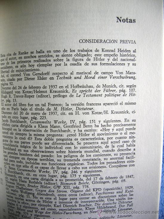 Libros de segunda mano: HITLER. JOACHIM C. FEST. LA BIOGRAFIA DEFINITIVA. DOS TOMOS, CON FOTOS DE LA EPOCA, . - Foto 9 - 28627665