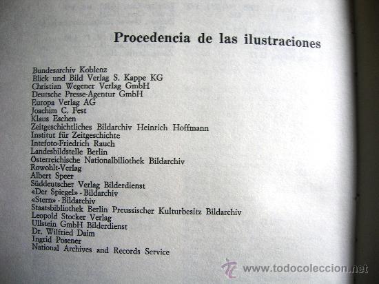Libros de segunda mano: HITLER. JOACHIM C. FEST. LA BIOGRAFIA DEFINITIVA. DOS TOMOS, CON FOTOS DE LA EPOCA, . - Foto 14 - 28627665