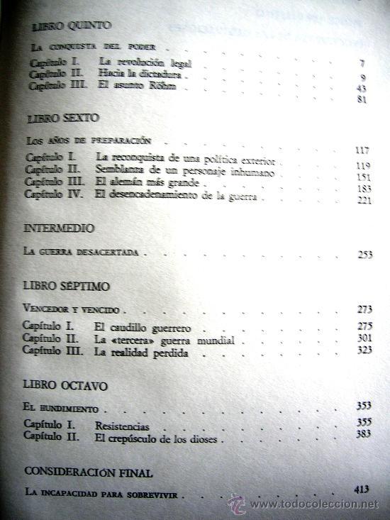 Libros de segunda mano: HITLER. JOACHIM C. FEST. LA BIOGRAFIA DEFINITIVA. DOS TOMOS, CON FOTOS DE LA EPOCA, . - Foto 13 - 28627665