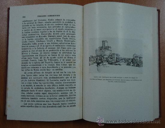 Libros de segunda mano: LUCRECIA BORGIA. FERNANDO GREGOROVIUS. EDITORIAL LORENZANA 1962. - Foto 5 - 28695521