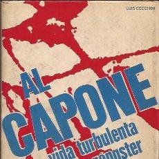 Libros de segunda mano: LIBRO-AL CAPONE-LUIS CECCHINI-EDIT. DE VECCHI-1973-BIOGRAFIA DEL GANGSTER-CON FOTOGRAFIAS. Lote 29488053