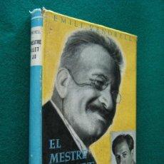 Libros de segunda mano: EL MESTRE MILLET I JO-MEMORIES-EMILI VENDRELL-DEDICATORIA MANUSCRITA DEL AUTOR-FOTOS-1953-1ª EDICIO.. Lote 29933844