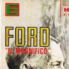 Libros de segunda mano: FORD EL MAGNIFICO - WILLIAM DASS - ENCICLOPEDIA POPULAR ILUSTRADA - SERIE H - Nº 5 - 1962. Lote 30053191