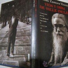 Libros de segunda mano: VIDA Y OBRA DE VALLE-INCLÁN(1866-1936) ALONSO ZAMORA VICENTE AB22467. Lote 30632380