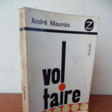 Libros de segunda mano: VOLTAIRE POR ANDRÉ MAUROIS DE JUVENTUD EN BARCELONA 1965. Lote 30938817