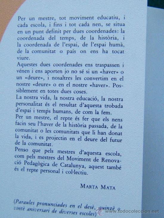 Libros de segunda mano: DIALEGS A BARCELONA - MARTA MATA - PILAR BENEJAM - XAVIER FEBRES - EDITORIAL LAIA - 1987 - 1ª EDICIO - Foto 2 - 31110386