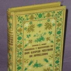 Libros de segunda mano: GRANDEZA Y DESVENTURA DE GASPAR MELCHOR DE JOVELLANOS.. Lote 31115605
