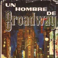 Libros de segunda mano: LIBRO-MOSS HART UN HOMBRE DE BROADWAY-AUTOBIOGRAFIA-PLAZA Y JANES-1961. Lote 33289031