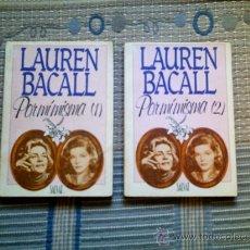 Libros de segunda mano: LAUREN BACALL. POR MI MISMA 1 Y 2 (EDITORIAL SALVAT). Lote 33397372