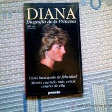 Libros de segunda mano: DIANA. BIOGRAFIA DE LA PRINCESA (PRONTO, RUSTICA). Lote 33397847