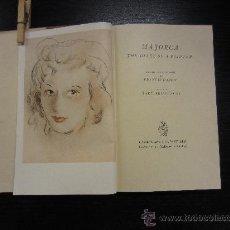 Libros de segunda mano: MAJORCA THE DIARY OF A PAINTER, FRANCIS CARON, DIARIO DE UN PINTOR EN MALLORCA. Lote 34026515