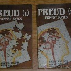 Libros de segunda mano: FREUD 2T POR ERNEST JONES DE ED. SALVAT EN BARCELONA 1984. Lote 34252906