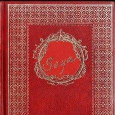 Libros de segunda mano: GOYA - COL. GRANDES PERSONAJES - ED. URBION - ENC. EXTRA - TAPA DURA - AÑO 1982 - R- AT. Lote 34644551