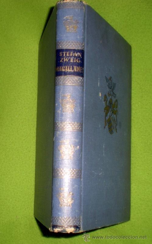 MAGALLANES;STEFAN ZWEIG;JUVENTUD 1ª EDICIÓN 1945 (Libros de Segunda Mano - Biografías)