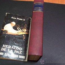 Libros de segunda mano: JUAN PABLO II - HERALDO DE LA PAZ - MADRID 1979 / ILUSTRADO. Lote 36121488