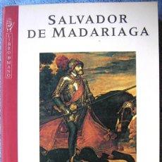 Libros de segunda mano: CARLOS V. SALVADOR DE MADARIAGA. INTROD. GERARD WALTER Y CON LAS MEMORIAS DE CARLOS V. 1995.. Lote 237012160