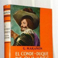 Libros de segunda mano: EL CONDE-DUQUE DE OLIVARES (LA PASIÓN DE MANDAR.). Lote 37515008