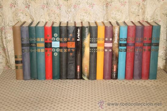 3387-COLLECTION GENIES ET REALITES. VVAA. EDIT HACHETTE. 1964. 19 VOL. (Libros de Segunda Mano - Biografías)