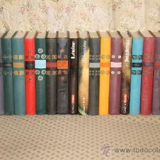 Libros de segunda mano: 3387-COLLECTION GENIES ET REALITES. VVAA. EDIT HACHETTE. 1964. 19 VOL. . Lote 37647467