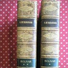 Libros de segunda mano: BOLÍVAR POR SALVADOR DE MADARIAGA. Lote 37731178