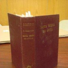 Libros de segunda mano: SANTA TERESA DE AVILA. 1951. THOMAS WALSH WILLIAM. Lote 37768582