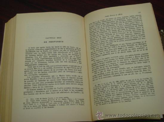 Libros de segunda mano: SANTA TERESA DE AVILA. 1951. THOMAS WALSH WILLIAM - Foto 6 - 37768582