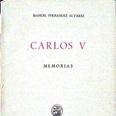 Libros de segunda mano: MANUEL FERNÁNDEZ ÁLVAREZ. CARLOS V. MADRID,1960. Lote 38306204