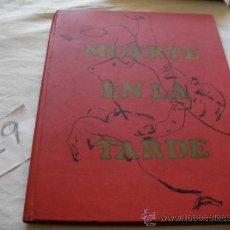Libros de segunda mano: GRAN LIBRO - MUERTE EN LA TARDE - ERNEST HEMINGWAY - ENVIO GRATIS A ESPAÑA. Lote 38396119