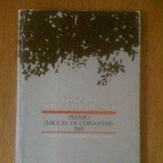 """Libros de segunda mano: GONZALO TORRENTE BALLESTER. PREMIO """"MIGUEL DE CERVANTES"""" 1985, DE VARIOS AUTORES. ANTHROPOS, 1987. Lote 38604427"""