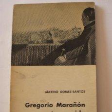 Libros de segunda mano: GREGORIO MARAÑON CUENTA SU VIDA.. Lote 38638765