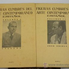Libros de segunda mano: L2-0264. FIGURAS CUMBRE DEL ARTE CONTEMPORANEO ESPAÑOL. EDIT. ARCHIVO DE ARTE. 1948. 17 VOL. . Lote 39042356