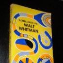 Libros de segunda mano: SEMBLANZA DE WALT WHITMAN / MILLER, JAMES E. Lote 39172791