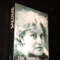 Libros de segunda mano: LOU ANDREAS-SALOMÉ / PETERS, H. F.. Lote 39191316